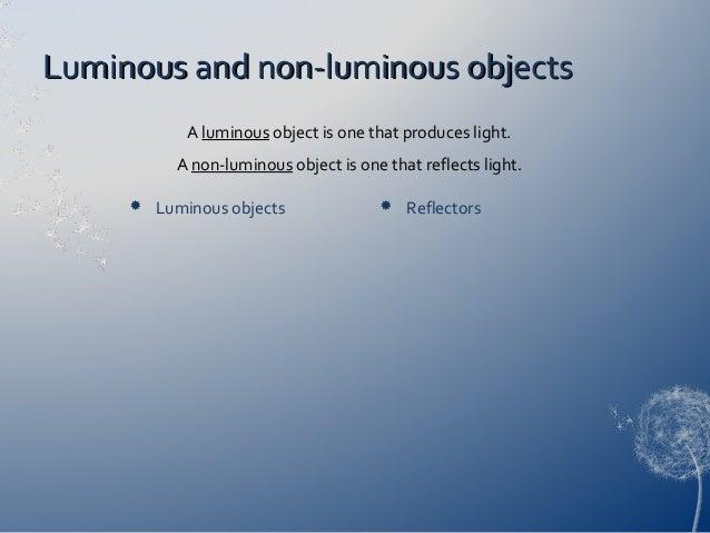 Light & optics.