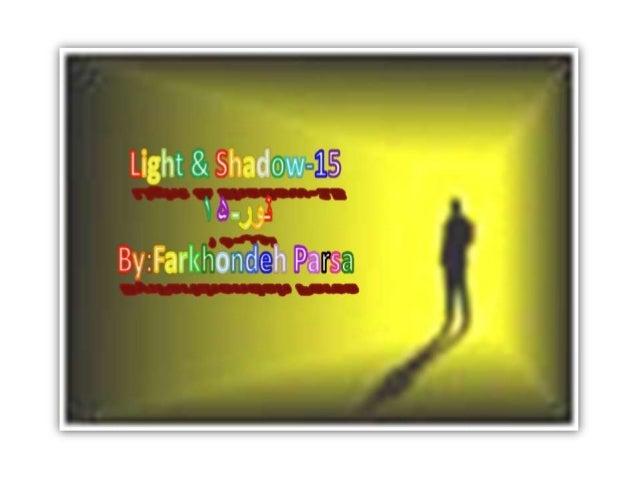 Light & Slmdow-%1;Sl«     , '.' 80' 'II.   By:  Fa rk h 0 n die.  h P«a: r;%s%a: