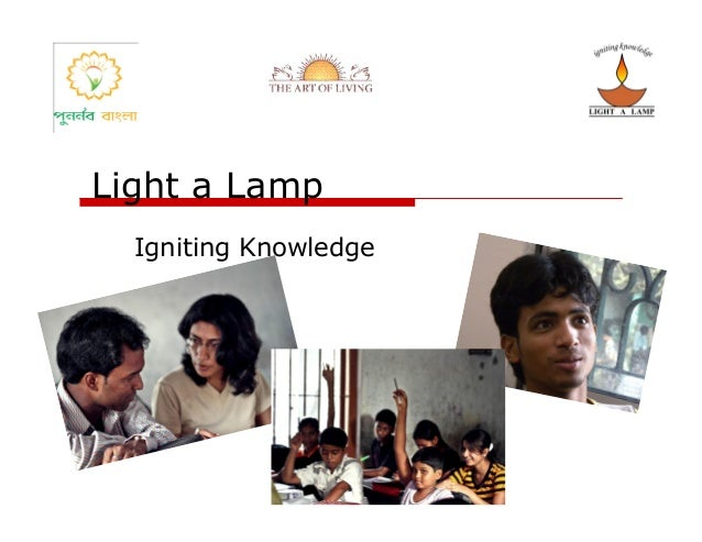 Light a Lamp  Igniting Knowledge