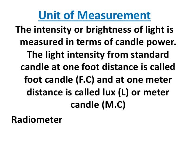 Light and temperature of an ecosystem