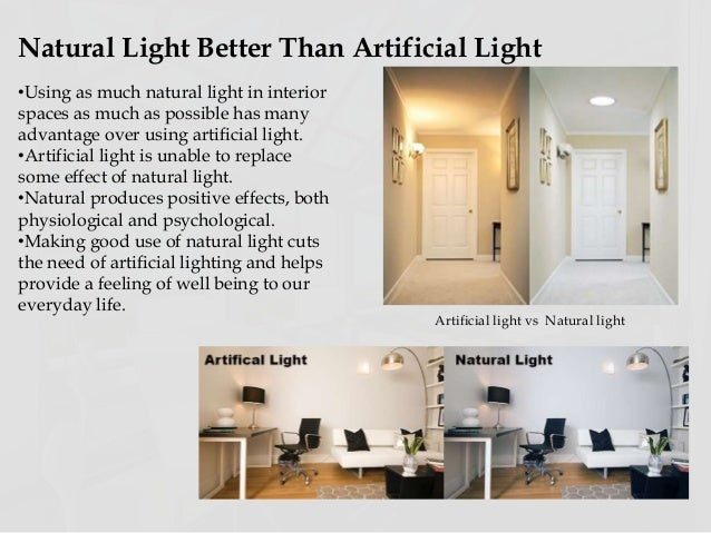 Is Natural Light Or Artifical Better For Pictures