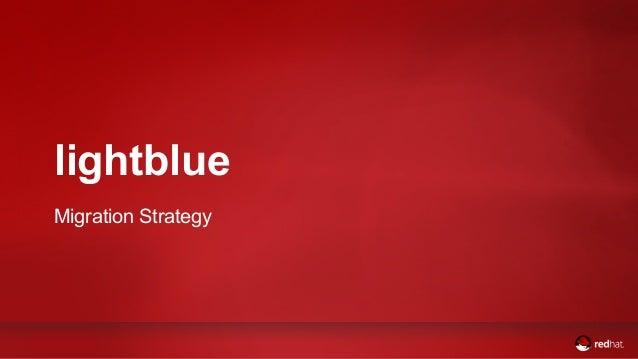 lightblue  Migration Strategy