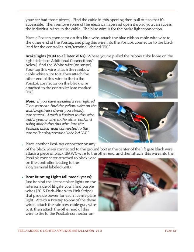 EVANNEX - Lighted Emblem Installation Guide for Tesla Model S