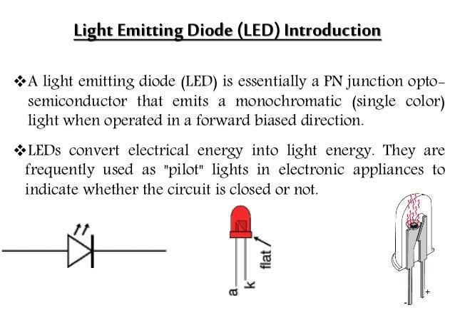 Light Emitting Diode(LED) ...