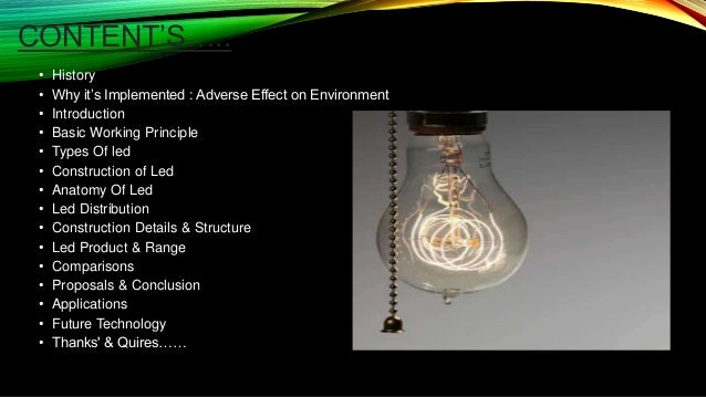 Light Emitting Diode S A Basic Description Of Led Bulbs