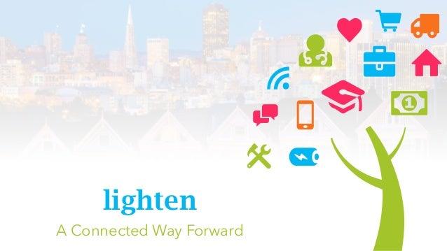 lighten A Connected Way Forward