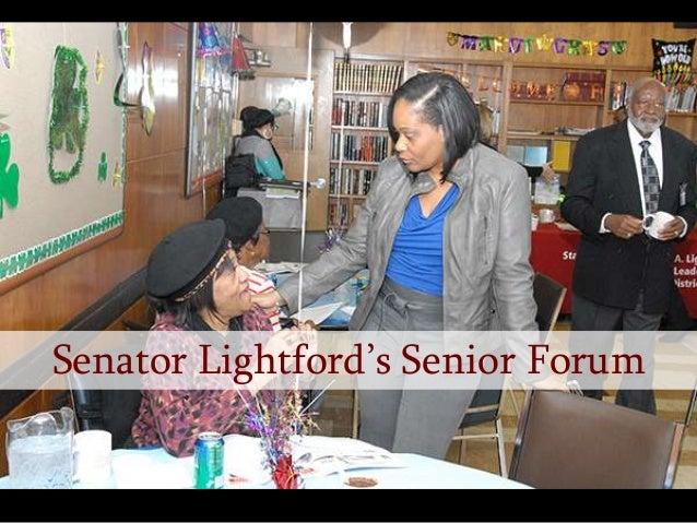 Senator Lightford's Senior Forum
