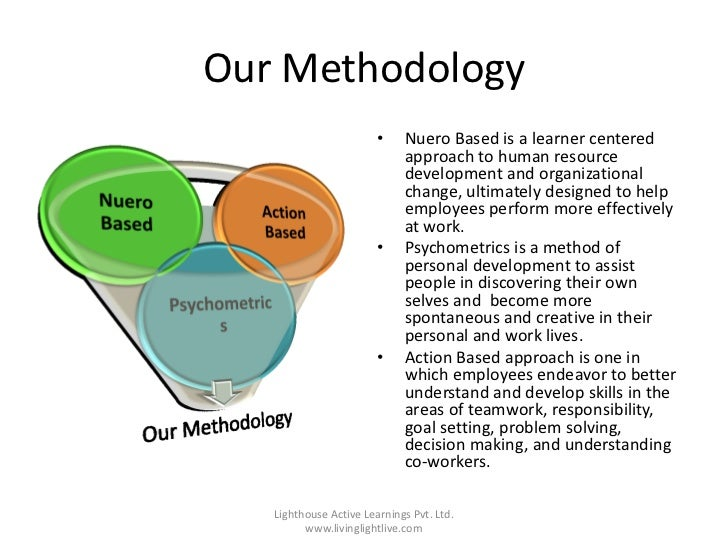 Our Methodology                        •    Nuero Based is a learner centered                             approach to huma...