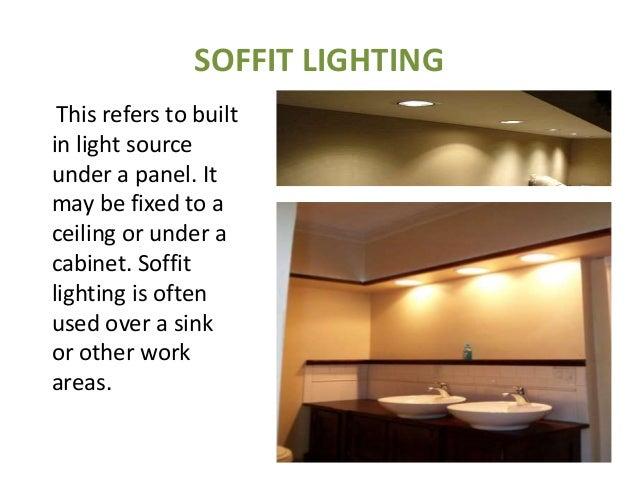 SOFFIT LIGHTING ...  sc 1 st  SlideShare & LIGHTING