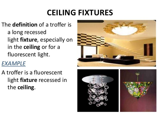 NON- ARCHITECTURAL LIGHTING; 27. CEILING FIXTURES The definition ...  sc 1 st  SlideShare & LIGHTING azcodes.com