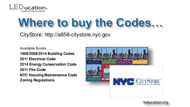 Lighting 311 Navigating the Codes on Lighting in NYC