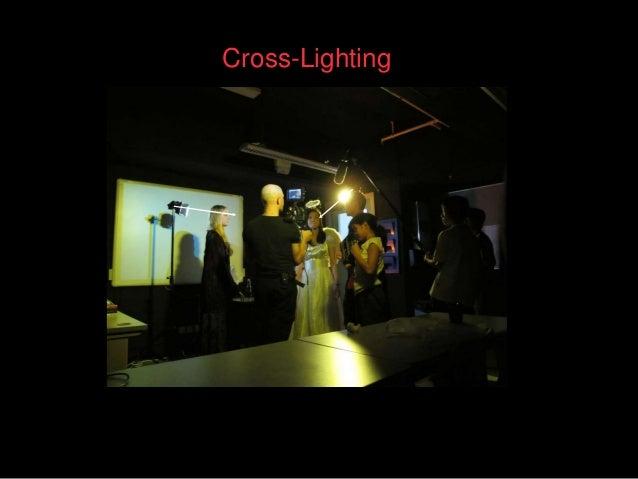 Cross-Lighting; 3. & Lighting a horror film pp