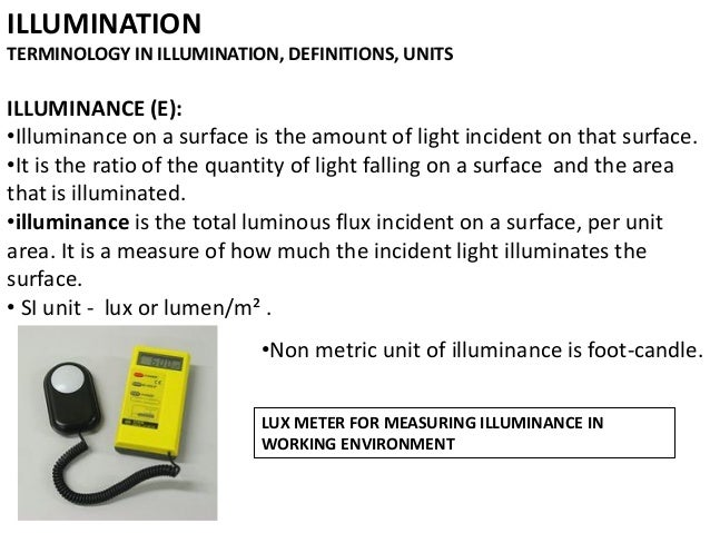 Lighting Architecture Lecture 3