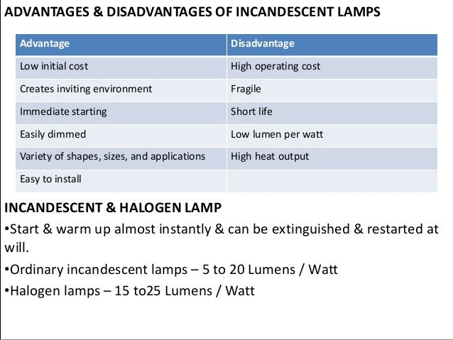 What Are The Advantages Of Halogen Light Bulbs ...