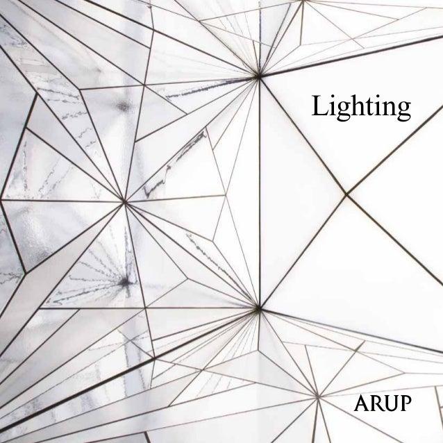 Lighting Design Lichtontwerp Arup