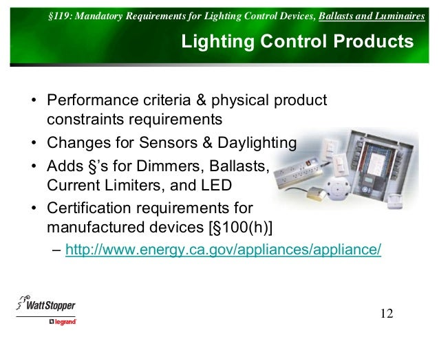 Lighting Control And 2008 Title 24