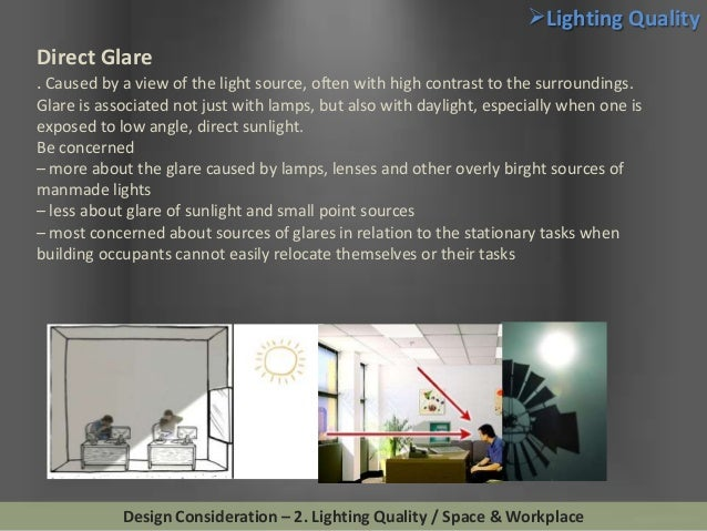 Lighting Design Considerations