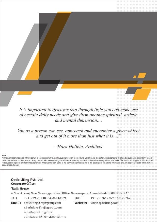 Lighting Design Consultation Services