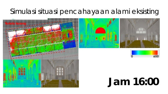 Tabel horizontal lighting Jam Area A Area B Area C Area D Illum Uni Illum Uni Illum Uni Illum Uni 10.00 203 lux 0.50 302 l...