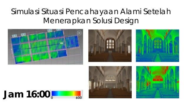 Tabel horizontal lighting Jam Area A Area B Area C Area D Illum Uni Illum Uni Illum Uni Illum Uni 10.00 43.4 lux 0.7 117 l...