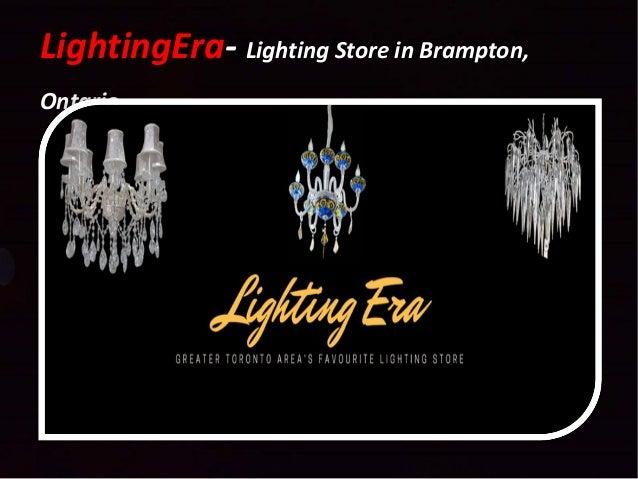 LightingEra- Lighting Store in Br&ton ...  sc 1 st  SlideShare & Lighting era lighting store in brampton ontario