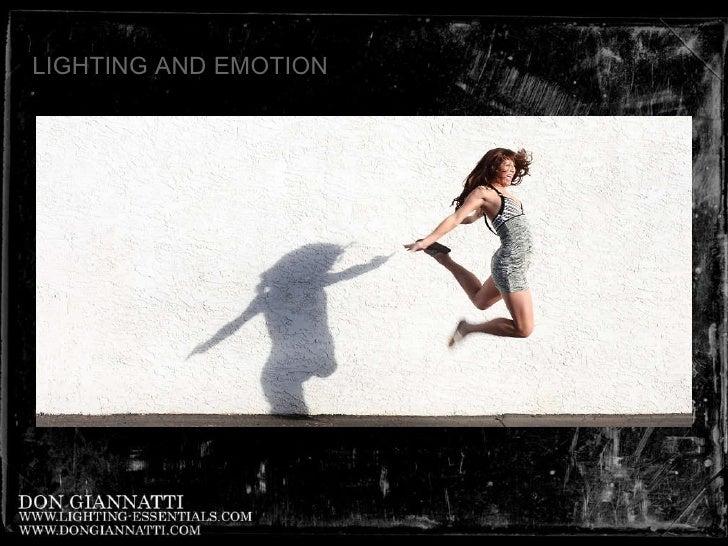 LIGHTING AND EMOTION