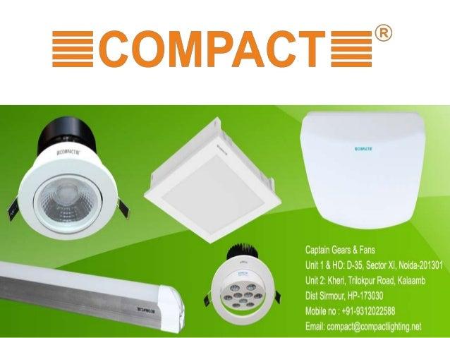 led lighting manufacturers india