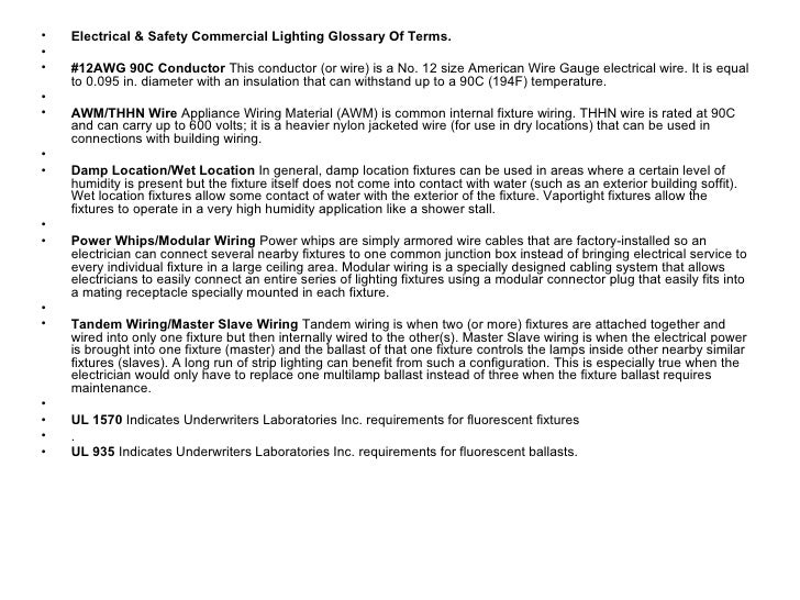 Lighting specification glossary of terms 6 keyboard keysfo Gallery