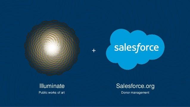 + Illuminate Salesforce.org Public works of art Donor management
