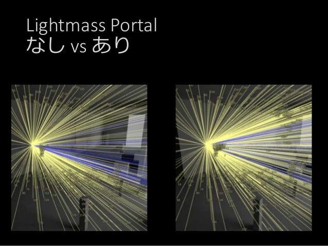 Lightmass Portal なし vs あり LightmapのPaddingの問題が。。。