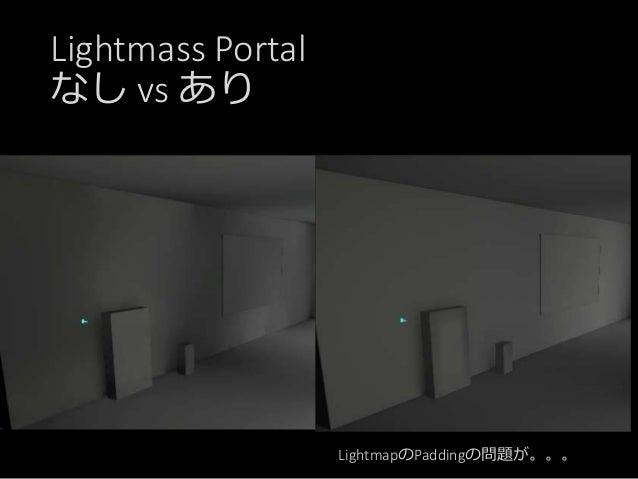 Lightmap作成のまとめ Point Spot Directional Light.. Sky Light Direct Lighting ライトに 直接レイを飛ばす Final Gathering時に 直接参照 Indirect Ligh...