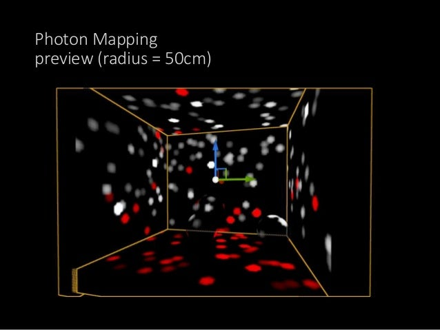設定をいじくりProductionよりも Photonの数を上げていく…