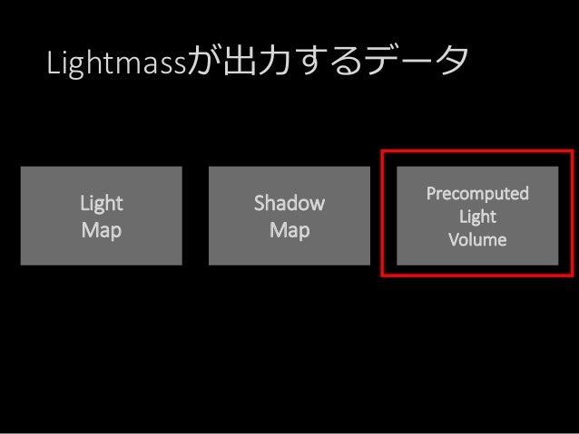 Lightmassの仕組み ~Precomputed Light Volume編~ (Epic Games Japan: 篠山範明) Slide 2