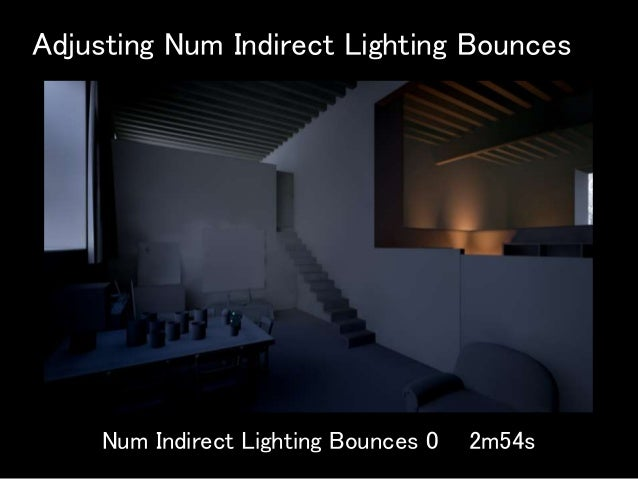 Practical usage of Lightmass in Architectural Visualization