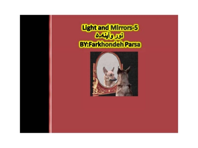 Light and Mirrors-5 5-4-13':  4.93 BY: Farkhondeh Parsa
