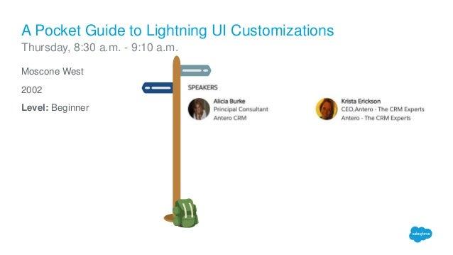 Lightning Sessions for Salesforce Admins at Dreamforce 2016 Slide 2