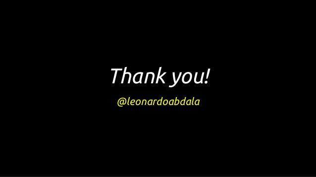 Thank you! @leonardoabdala