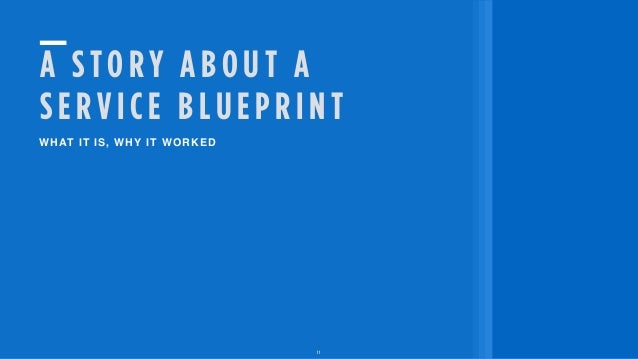 Lightning Talk #14: Blueprint for change by Ally Reeves