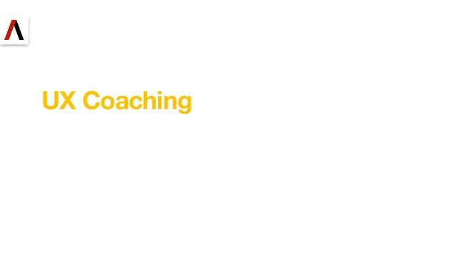 UX Coaching 