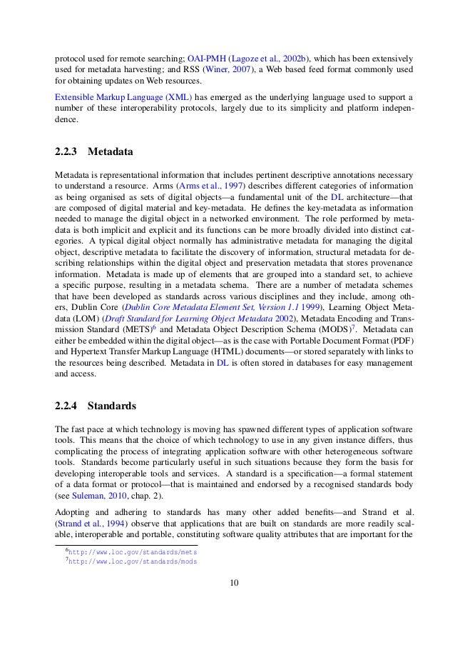 Digital liberary dissertation