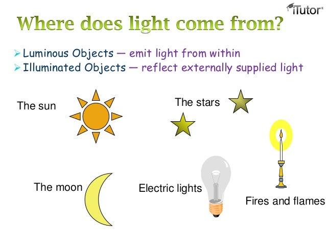 Definition of luminous objects   define luminous objects physics.