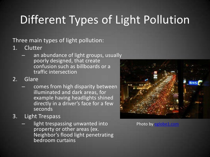 Light Pollution And Its Effects On The Night Sky