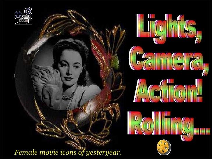 Lights,  Camera,  Action!  Rolling... Lights,  Camera,  Action!  Rolling... Lights,  Camera,  Action!  Rolling... Female m...
