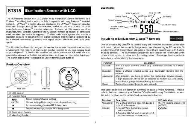 light sensor with lcd display user manual rh slideshare net tft lcd monitor user manual 7 tft lcd monitor user manual