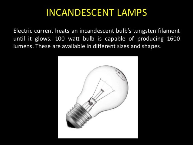 Different Types Of Light Sources