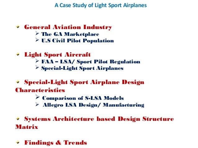 Light sport airplanes asm 2013 sundararajan