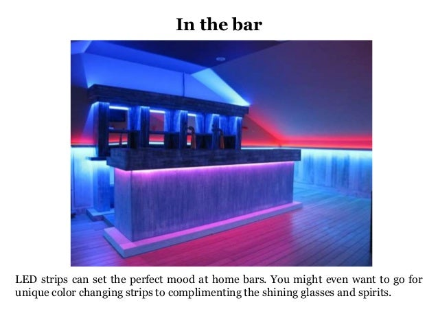 Light up your home with led strips 7 in the bar led strips can aloadofball Choice Image