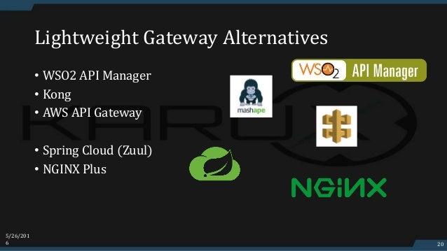 Lightweight ESB Alternatives
