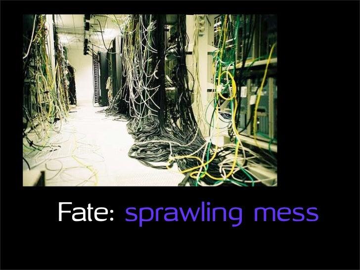 Fate: sprawling mess