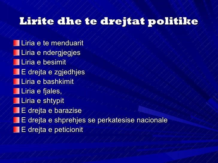 E drejta e zgjedhjesE drejta e zgjedhjesmund te jete:aktive dhe pasive